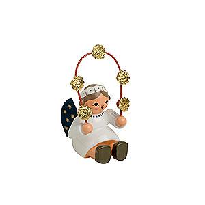 Weihnachtsengel Sonstige Engel Engel mit Sternenbogen - 4cm