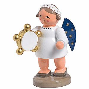 Weihnachtsengel Engelsorchester (KWO) Engel mit Tamburin - 5 cm