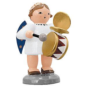 Weihnachtsengel Engelsorchester (KWO) Engel mit Trommel und Schellen - 5 cm