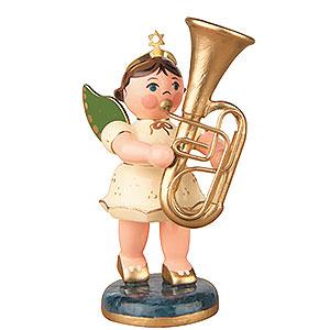 Weihnachtsengel Orchester (Hubrig) Engel mit Tuba - 6,5cm
