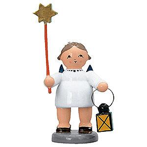 Weihnachtsengel Sonstige Engel Engel mit Verkündigungsstern und Laterne - 5 cm
