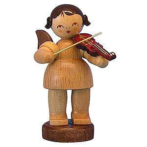 Weihnachtsengel Engel - natur - klein Engel mit Violine - natur - stehend - 6cm