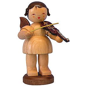 Weihnachtsengel Engel - natur - groß Engel mit Violine - natur - stehend - 9,5cm