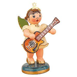 Weihnachtsengel Orchester (Hubrig) Engel mit Westerngitarre - 6,5 cm