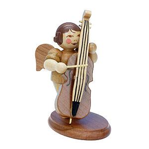 Weihnachtsengel Orchester natur (Ulbricht) Engel natur mit Bass - 6,0 cm