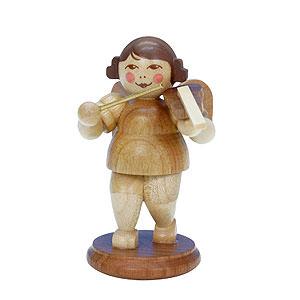 Weihnachtsengel Orchester natur (Ulbricht) Engel natur mit Geige - 6,0 cm