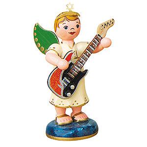 Weihnachtsengel Orchester (Hubrig) Engelbub mit E-Gitarre - 6,5cm