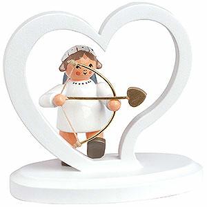 Weihnachtsengel Buchstaben-/Zahlen-Engel Engelbuchstabe Herz
