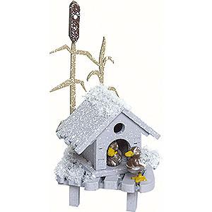 Kleine Figuren & Miniaturen Kuhnert Schneeflöckchen Entenhaus - 4cm