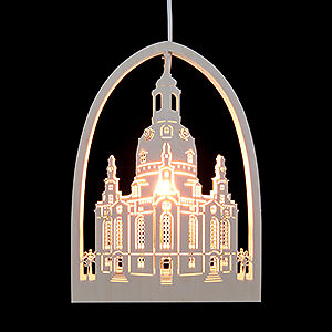 Lichterwelt Fensterbilder Fensterbild Frauenkirche - 21,5x29,5 cm