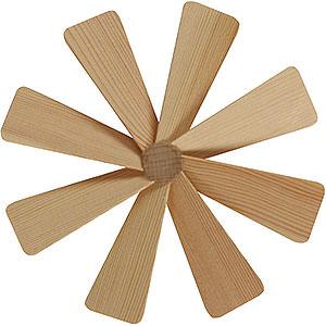 Weihnachtspyramiden Zubehör & Kerzen Flügelrad für Weihnachtspyramide - Durchmesser = 13cm