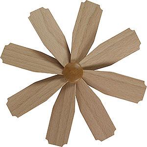 Weihnachtspyramiden Zubehör & Kerzen Flügelrad für Weihnachtspyramide - Durchmesser = 20cm