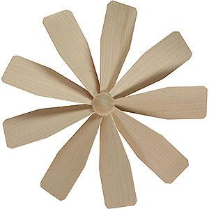 Weihnachtspyramiden Zubehör & Kerzen Flügelrad für Weihnachtspyramide - Durchmesser = 23 cm