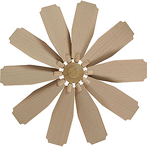 Weihnachtspyramiden Zubehör & Kerzen Flügelrad für Weihnachtspyramide - Durchmesser = 25cm
