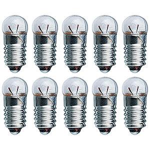 Kleine Figuren & Miniaturen Zubehör Glühlampe - Sockel E10 - 4,8V/0,3A