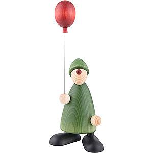 Kleine Figuren & Miniaturen Björn Köhler Gratulanten Gratulant Linus mit Luftballon - 17 cm