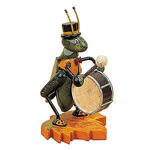 Kleine Figuren & Miniaturen Tiere K�fer Grille mit Trommel - 8cm