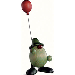 Kleine Figuren & Miniaturen Björn Köhler Grüne Männlein Grünes Männlein mit Luftballon - 11 cm