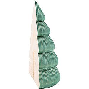 Kleine Figuren & Miniaturen Björn Köhler Dekoration Halber Baum für Wandrahmen grün - 11,5cm