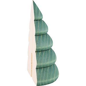 Kleine Figuren & Miniaturen Björn Köhler Dekoration Halber Baum für Wandrahmen grün - 9,5cm