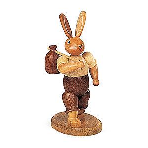 Kleine Figuren & Miniaturen Tiere Hasen Hase Wandersmann - 11cm