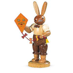 Kleine Figuren & Miniaturen Tiere Hasen Hase mit Drachen - 11 cm