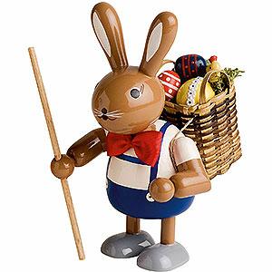 Kleine Figuren & Miniaturen Tiere Hasen Hase mit Tragekorb - 11 cm