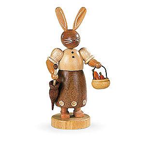 Kleine Figuren & Miniaturen Tiere Hasen Hasenfrau naturfarben - 17 cm