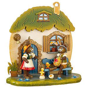 Kleine Figuren & Miniaturen Tiere Hasen Hasenhausen - 17cm