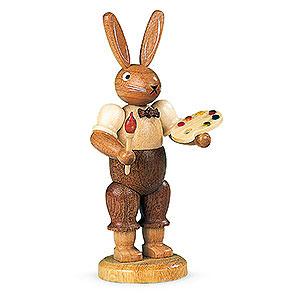 Kleine Figuren & Miniaturen Tiere Hasen Hasenmaler - 11 cm