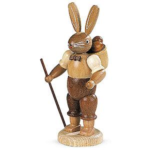 Kleine Figuren & Miniaturen Tiere Hasen Hasenmann naturfarben - 11 cm
