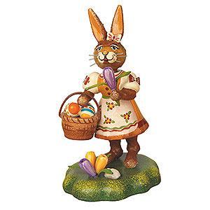 Kleine Figuren & Miniaturen Tiere Hasen Hasenmutter mit Krokus - 9cm
