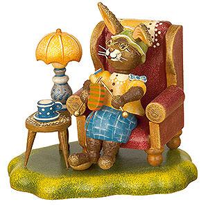 Kleine Figuren & Miniaturen Tiere Hasen Hasenoma - 10cm