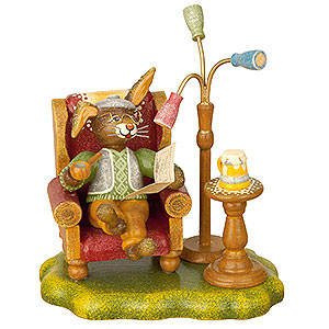 Kleine Figuren & Miniaturen Tiere Hasen Hasenopa - 10 cm