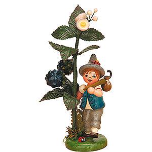 Kleine Figuren & Miniaturen Hubrig Herbstkinder Herbstkind - Brombeere - 13 cm