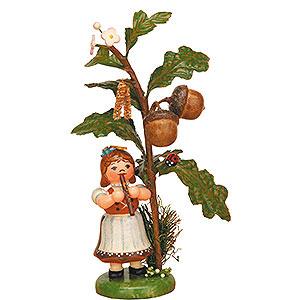 Kleine Figuren & Miniaturen Hubrig Herbstkinder Herbstkind - Eichel - 13cm