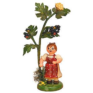 Kleine Figuren & Miniaturen Hubrig Herbstkinder Herbstkind - Holunder - 13cm