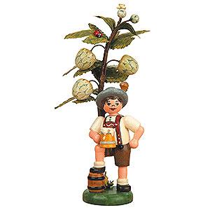 Kleine Figuren & Miniaturen Hubrig Herbstkinder Herbstkind - Hopfen - 13cm