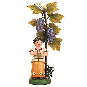 Kleine Figuren & Miniaturen Hubrig Herbstkinder Herbstkind - Wein - 13cm