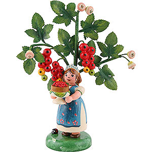 Kleine Figuren & Miniaturen Hubrig Herbstkinder Herbstkinder Jahresfigur 2016 Rote Johannisbeere - 13cm