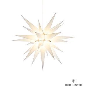 Advent Stars and Moravian Christmas Stars Herrnhuter Star I7 Herrnhuter Moravian star I7 white paper - 70cm