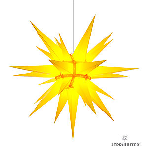 Adventssterne und Weihnachtssterne Herrnhuter Stern A13 Herrnhuter Stern A13 gelb Kunststoff - 130cm