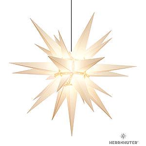 Adventssterne und Weihnachtssterne Herrnhuter Stern A13 Herrnhuter Stern A13 weiss Kunststoff - 130cm