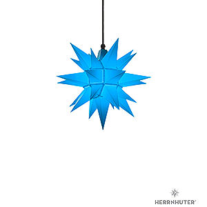 Adventssterne und Weihnachtssterne Herrnhuter Stern A4 Herrnhuter Stern A4 blau Kunststoff - 40 cm