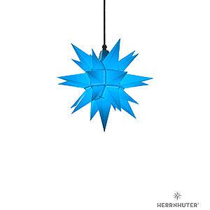Adventssterne und Weihnachtssterne Herrnhuter Stern A4 Herrnhuter Stern A4 blau Kunststoff - 40cm