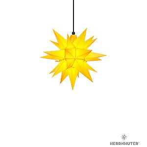 Adventssterne und Weihnachtssterne Herrnhuter Stern A4 Herrnhuter Stern A4 gelb Kunststoff - 40cm