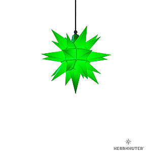 Adventssterne und Weihnachtssterne Herrnhuter Stern A4 Herrnhuter Stern A4 grün Kunststoff - 40cm