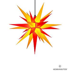 Adventssterne und Weihnachtssterne Herrnhuter Stern A7 Herrnhuter Stern A7 gelb/rot Kunststoff - 68 cm