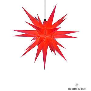 Bestseller Herrnhuter Stern A7 rot Kunststoff - 68cm