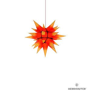 Adventssterne und Weihnachtssterne Herrnhuter Stern I4 Herrnhuter Stern I4 gelb/roter Kern Papier - 40cm